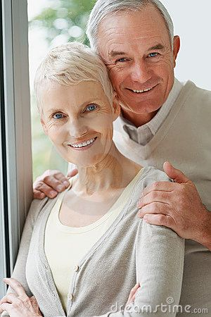 Couple mature old
