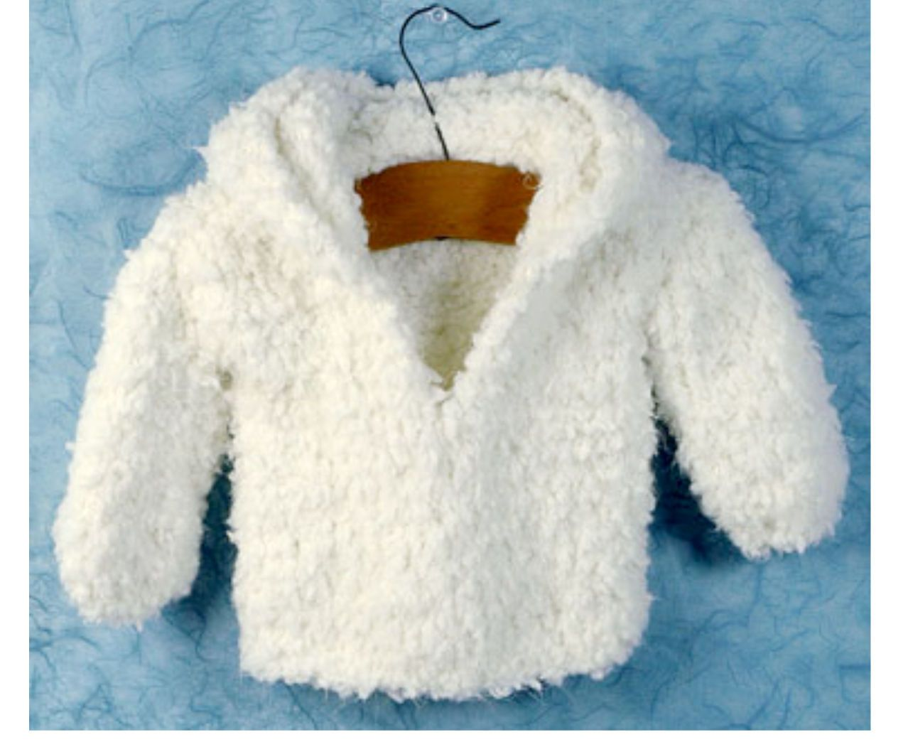 KNITTING PATTERN-BABY VERY easy knit hooded Jacket in nice thick ...
