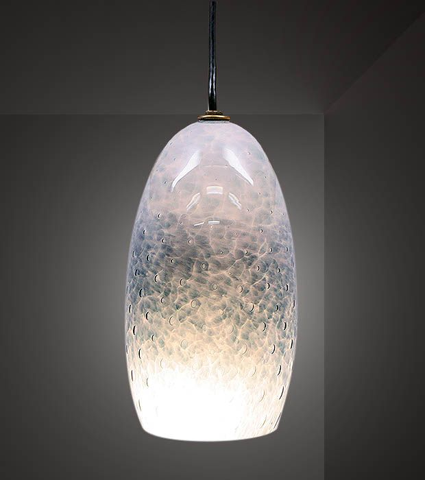 Picture of steel blue tiny bubbles blown glass pendant light picture of steel blue tiny bubbles blown glass pendant light aloadofball Images