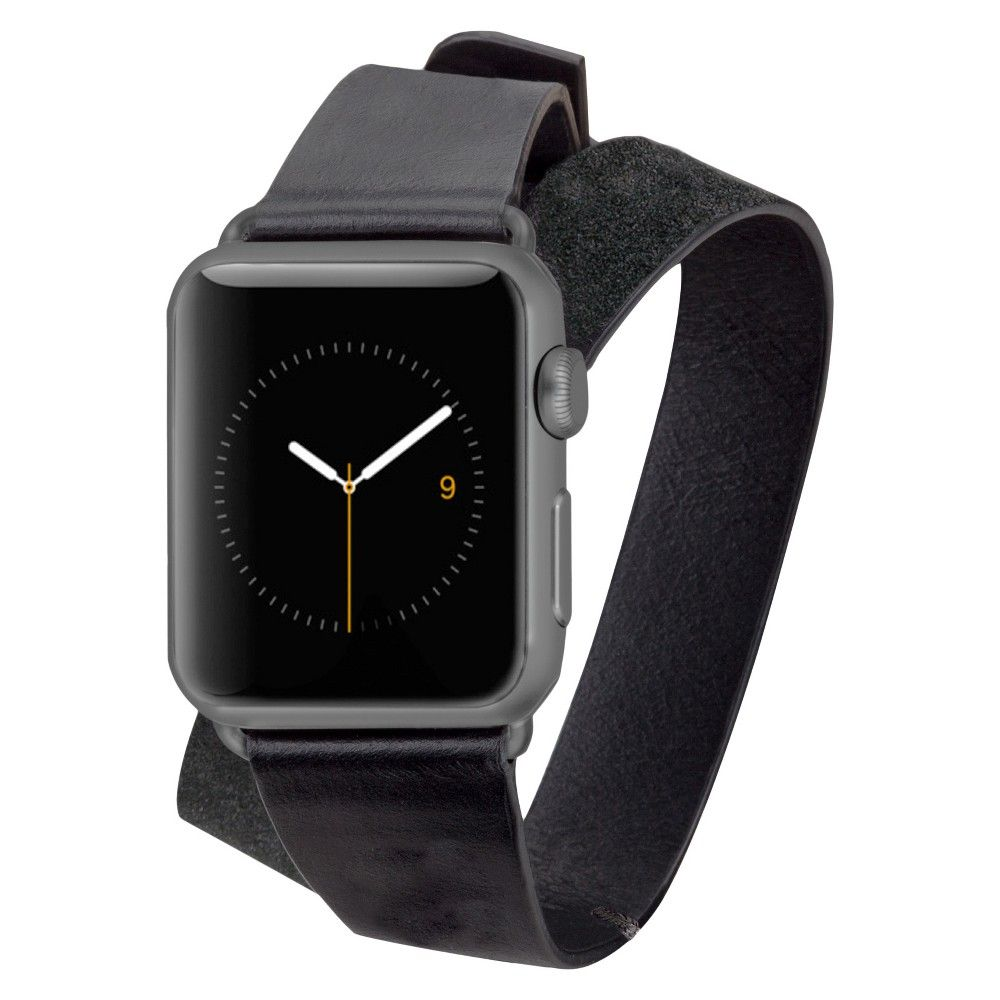 CaseMate Apple Watch 38mm Double Wrap Band Black