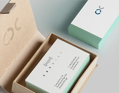 Check Out New Work On My Behance Portfolio Business Cards Cdc