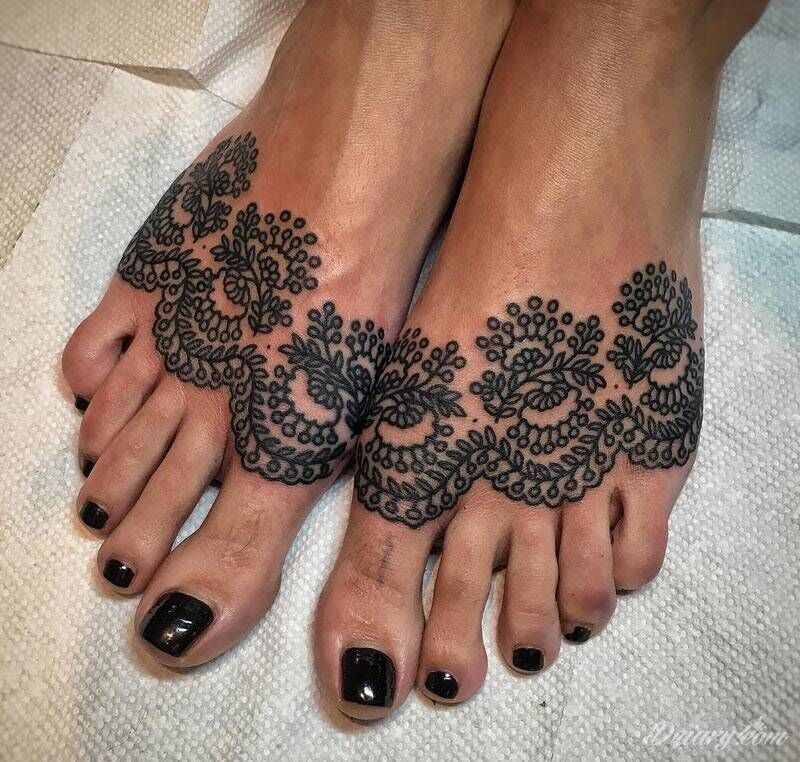 Tatuaze Wzory Dziary Com Foot Tattoos Foot Tattoo Tattoos