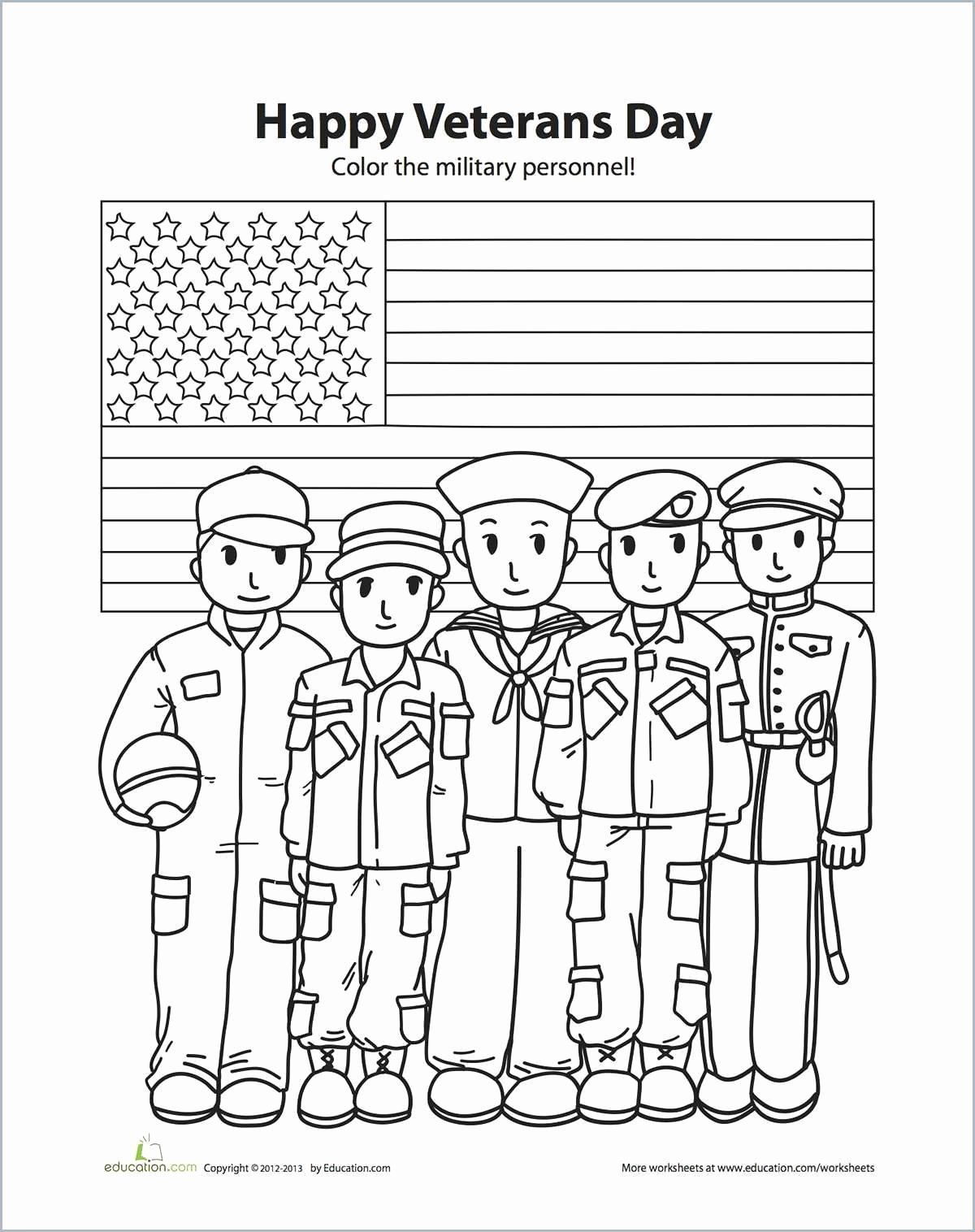 Happy Veterans Day Coloring Pages Lovely Of Veterans
