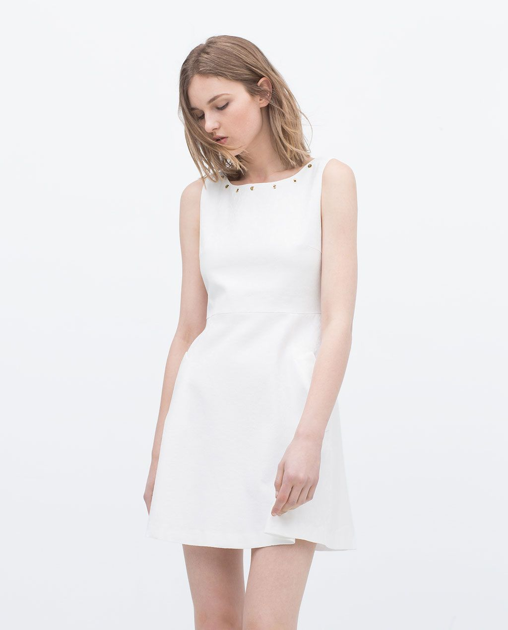 Robe blanche a zara