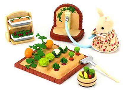 Sylvanian Families KA-612 Home Party Set Cake Present Dinner Calico Critters