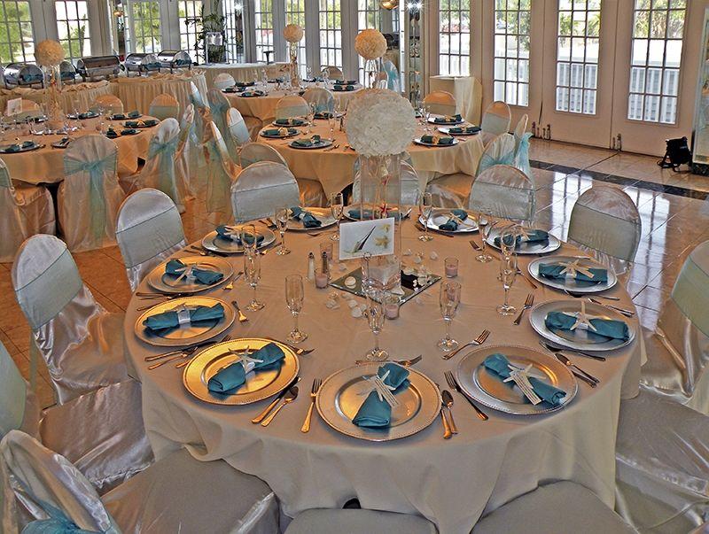 Silver Chargers Grand Plaza Wedding St Pete Beach Florida Imperial Ballroom Grand Plaza Wedding Wedding Centerpieces