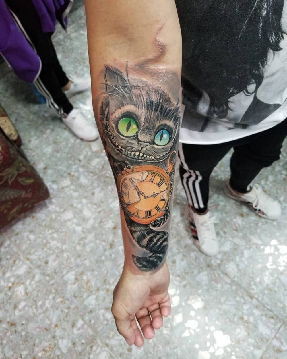Totenkopf arm männer tattoos Kleine Tattoos
