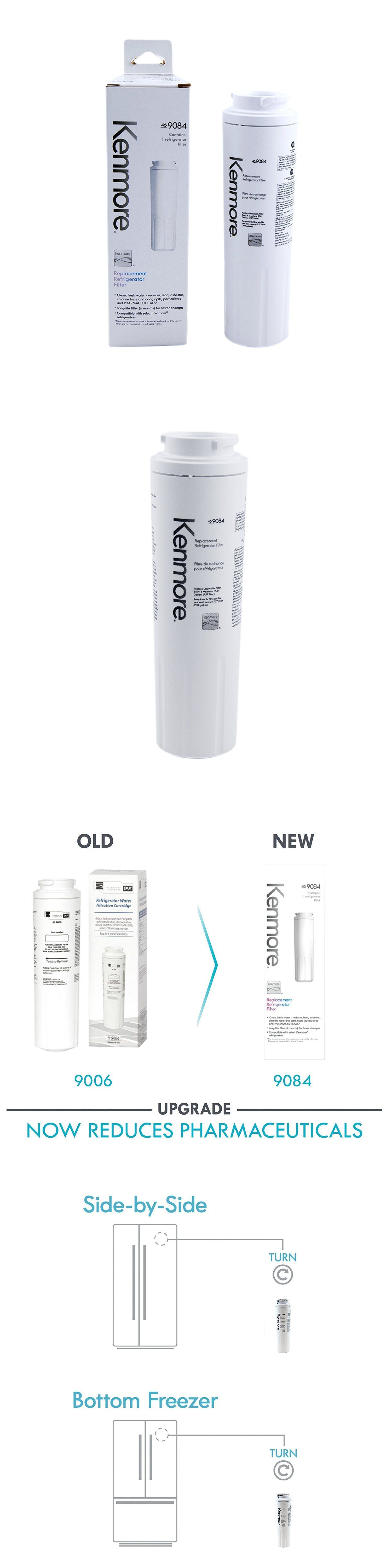Water Filters 20684 Fits Kenmore 9084 9084 Refrigerator Water Filter White Buy It Now Only 10 On Ebay Water Filters K Water Filters 20684 Water