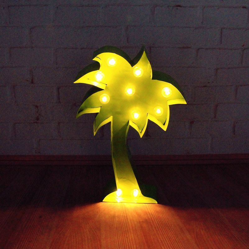 bring the tropics to your home with our palm tree light this quirky and kitsch