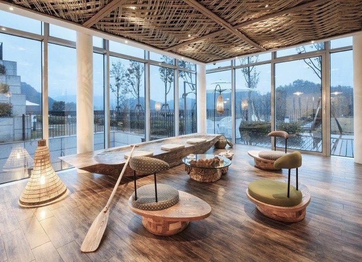 Ripple Hotel Qiandao Lake By Li Xiang Interior Design News