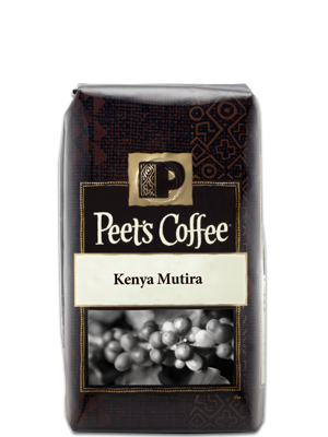 Kenya Mutira Peets coffee, Decaf coffee, Coffee