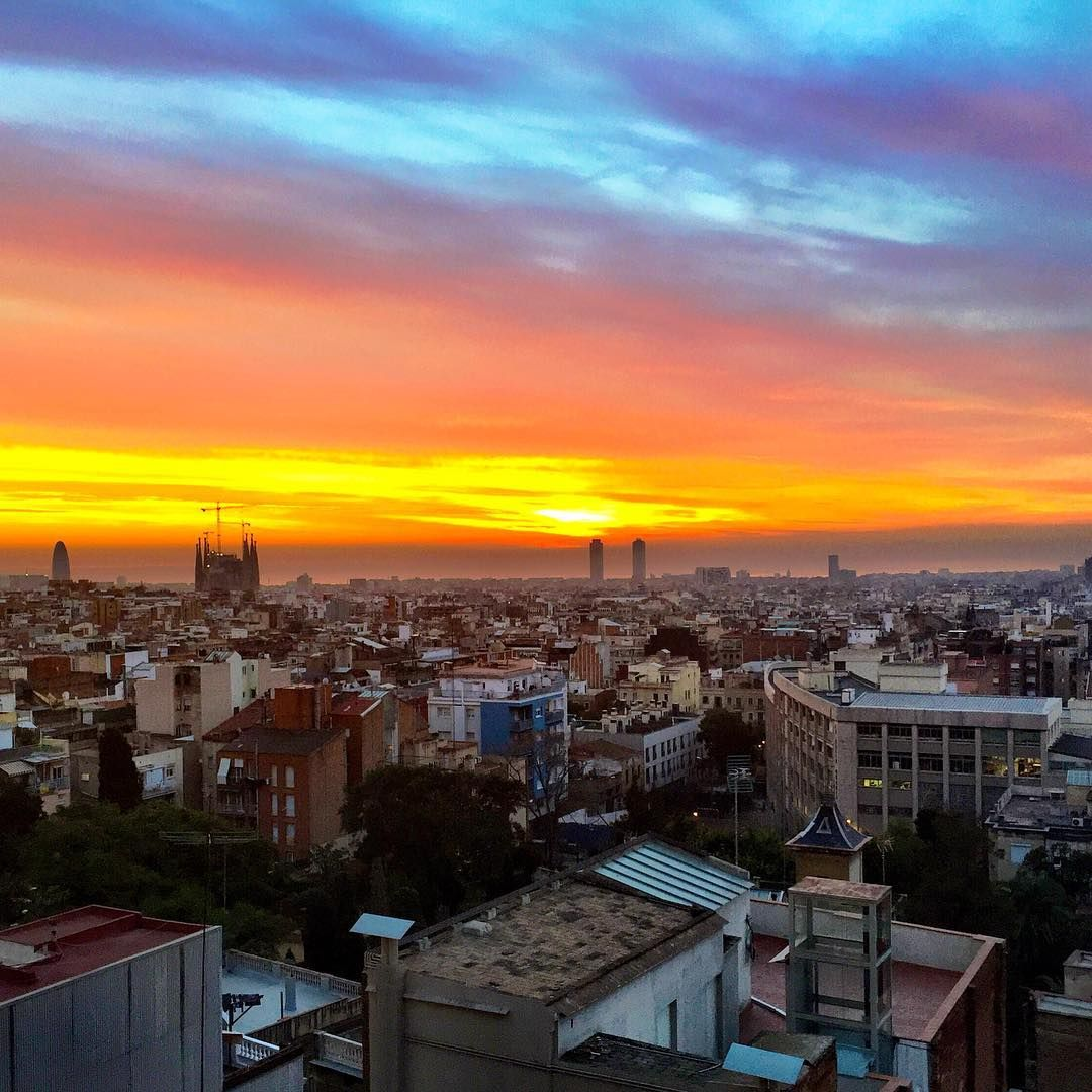 Sunrise Barcelona Instagram Instagram Posts Barcelona