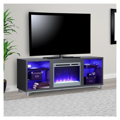 Yorkshire Fireplace Tv Stand For Tvs Up To 70 Wide Gray
