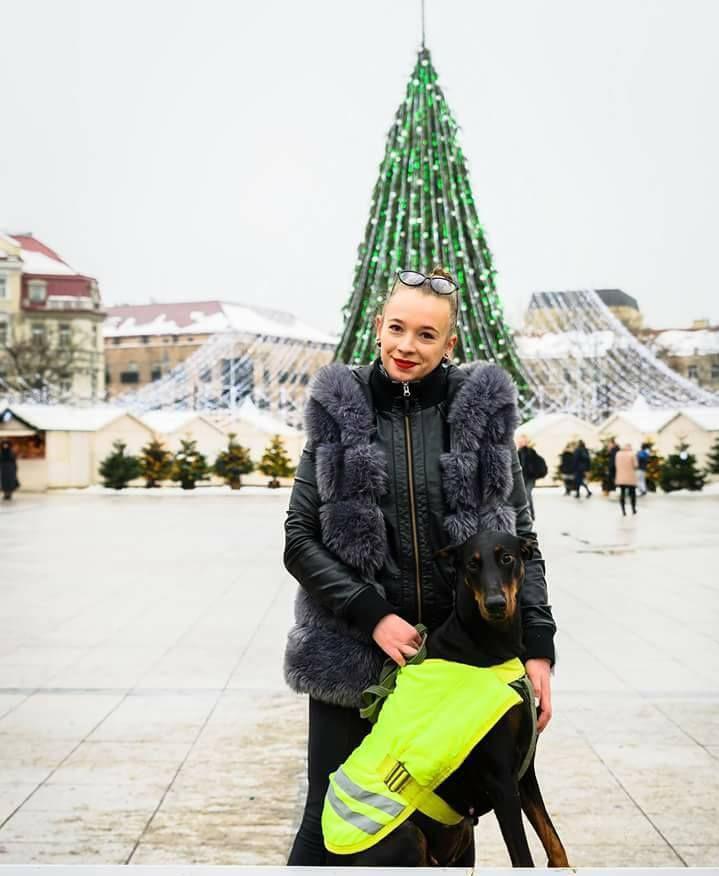Mädchen Lituania