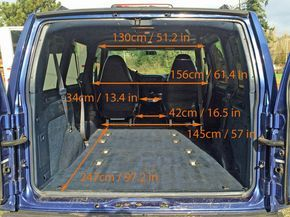 Gmc Safari Astro Van Interior Measurements For Minivan