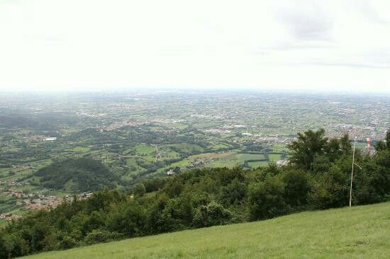 View from Monte Grappa,  TV