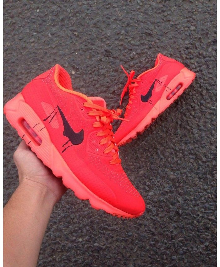 buy online 18282 78a8c ... Air Max 90 Candy Drip Lava Red Orange Black Trainer At present the most  popular style