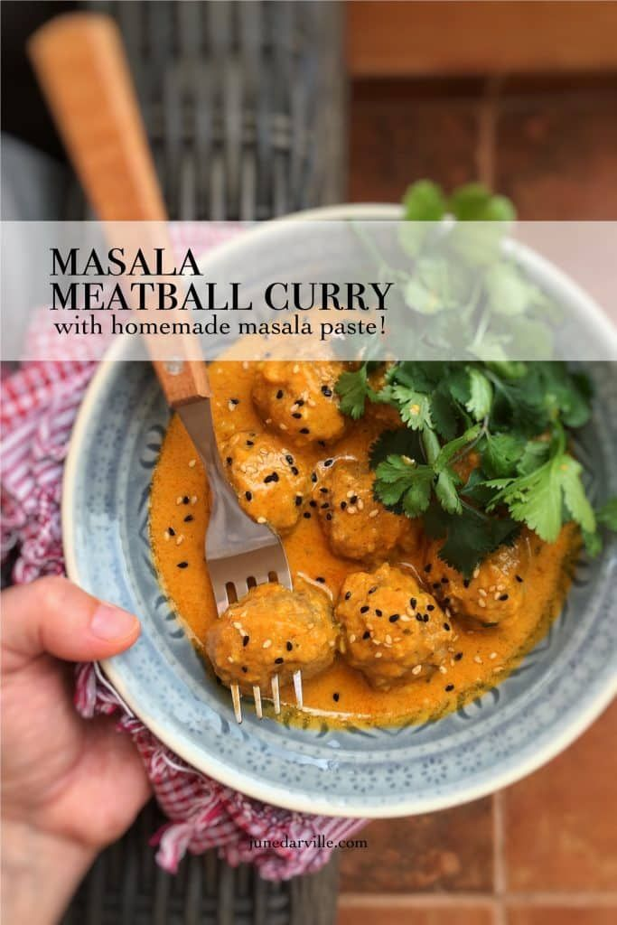Whats on the menu for dinner tonight lets make a creamy masala whats on the menu for dinner tonight lets make a creamy masala meatball curry using forumfinder Gallery