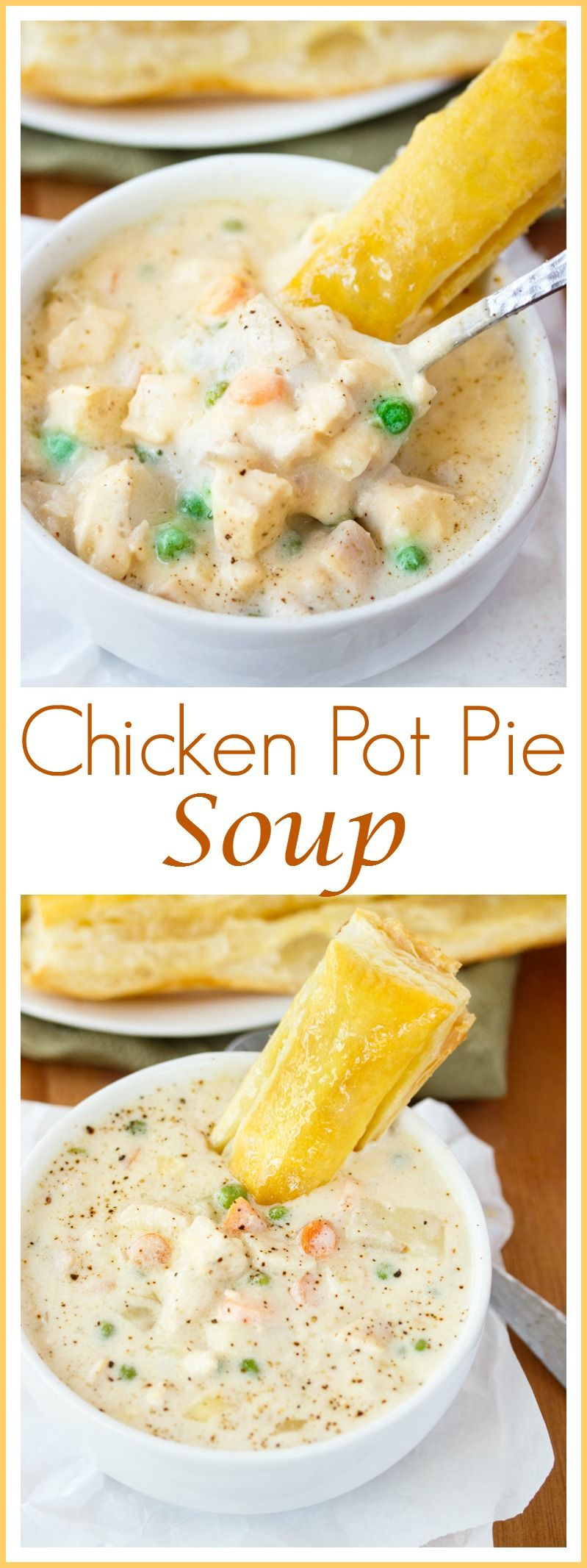 Chicken pot pie soup this rich and creamy soup encompasses all of chicken pot pie soup this rich and creamy soup encompasses all of the classic flavors forumfinder Images