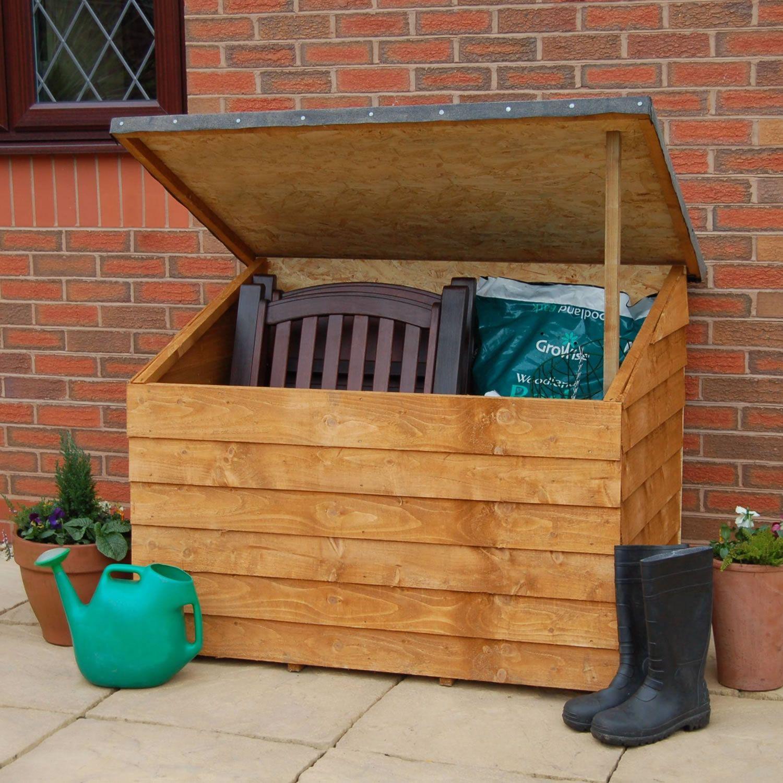 Plus Overlap Tool Chest Garden Storage