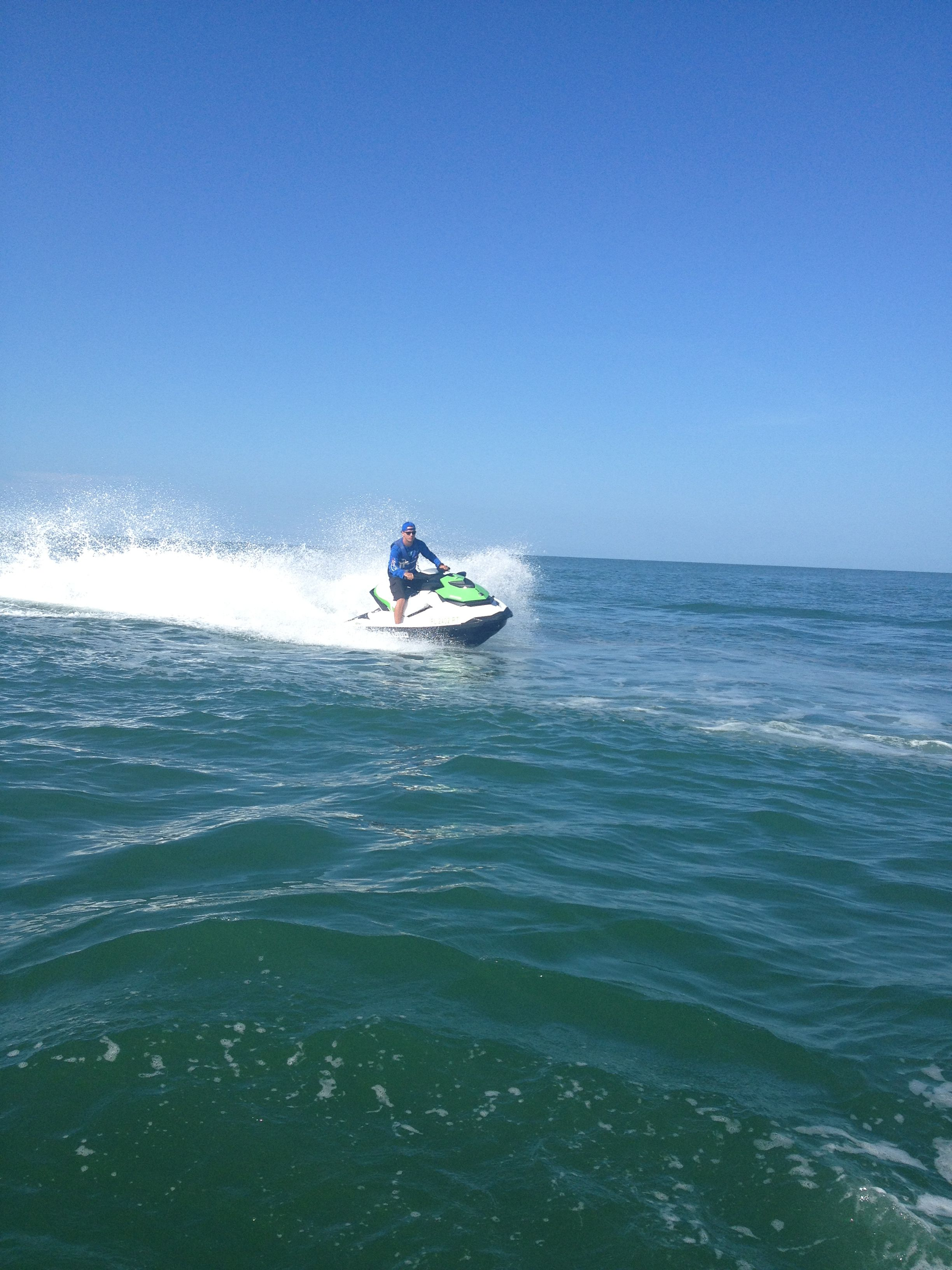 Out in the Gulf of Mexico Naples Florida Boat rental
