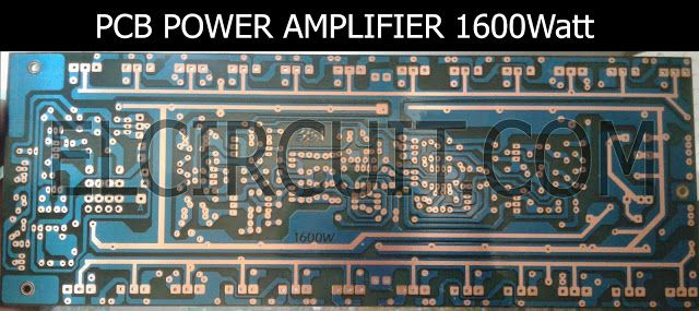 Power Amplifier Balap : 1600w high power amplifier circuit complete pcb layout ~ Hamham.info Haus und Dekorationen
