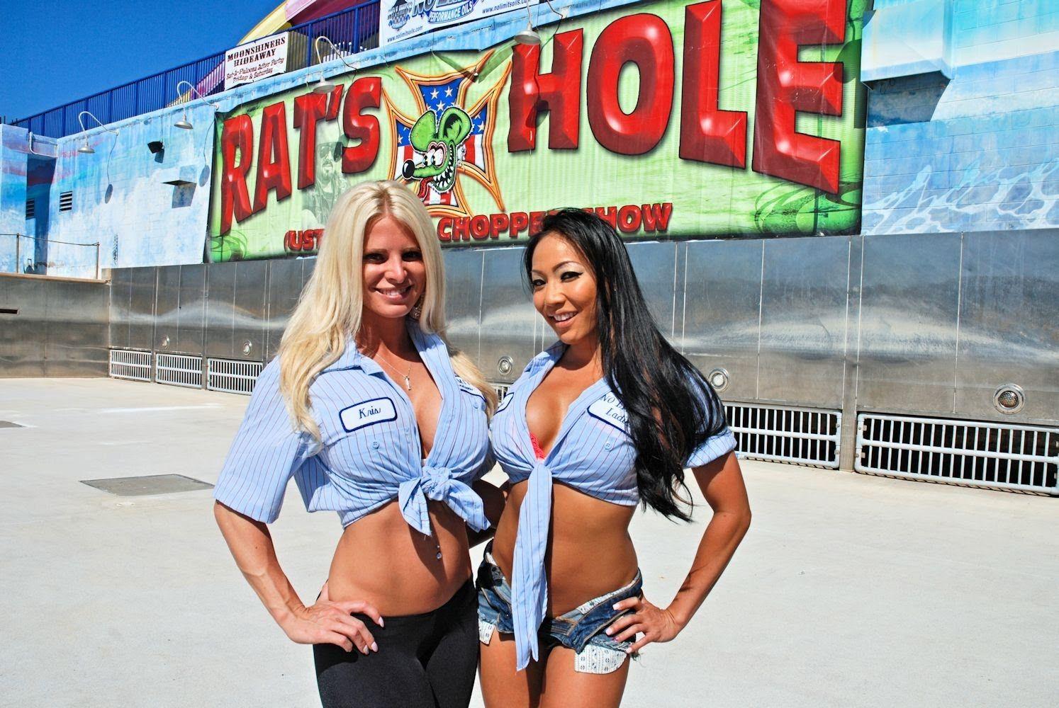 Daytona Beach Bike Week 2014, Custom motorcycle Show Hot Babes, Baggers,...