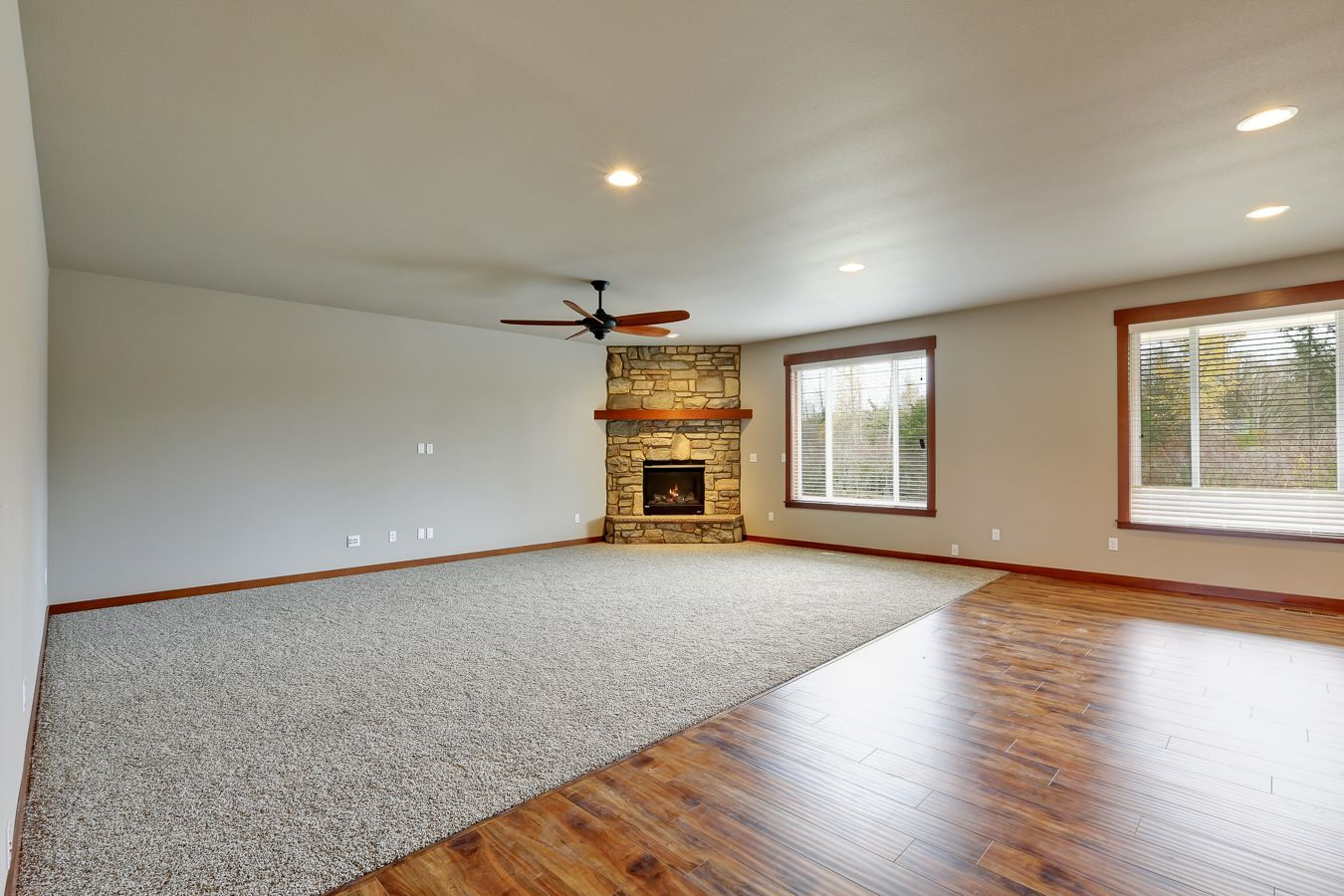 corner fireplace with a raised hearth and shelf hemlock mantle rh pinterest com