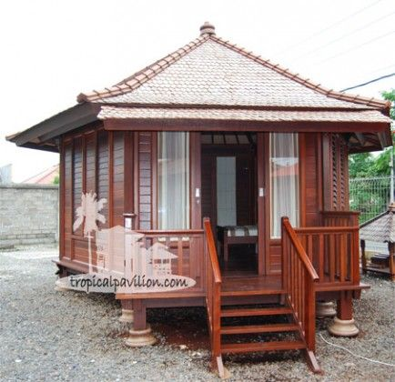 Indonesian prefabricated wooden house originaly for Prefab tropical homes
