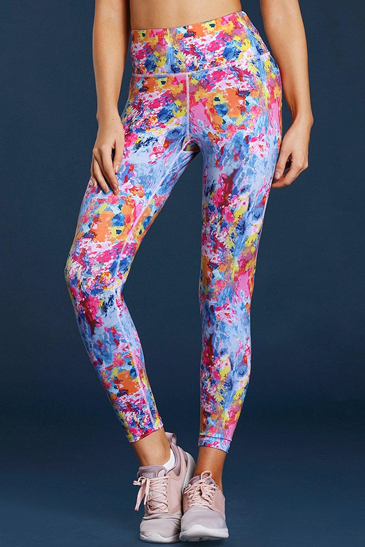 fdaebc6ecea Colorful Tie Dye Print Skintight Yoga Pants | Zara Anwar (Personal ...