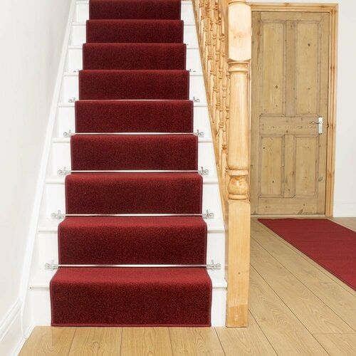Best Alma Red Stair Runner Rosalind Wheeler Rug Size Runner 66 400 x 300