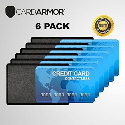 Rfid Blocking Sleeve Credit Card Holder Best Clear Debit Card Protector Secure Protection Shield Rfid Sleeves For Id Passport Cards Credit Card Card Holder