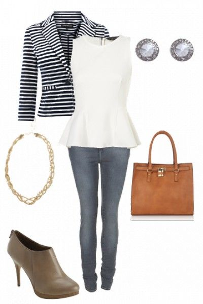 A classy city chic outfit #style #outfits