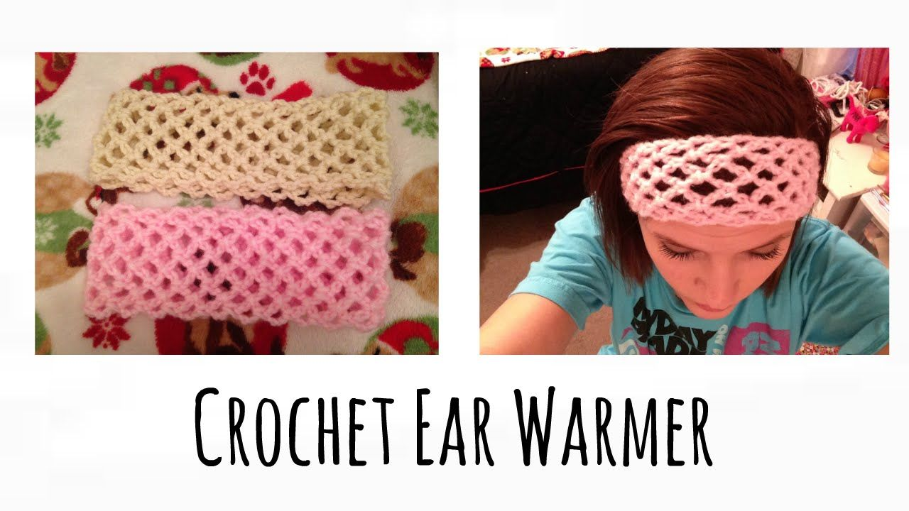 Crochet ear warmer tutorial easy knitt and crochet pinterest how to crochet a headband baditri Image collections