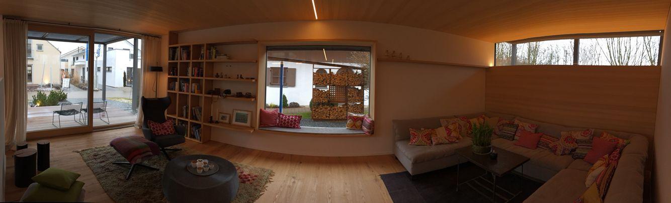 Wohnzimmer mit viel Holz - wirkt sehr gemütlich Unser Haus - wohnzimmer design gemutlich