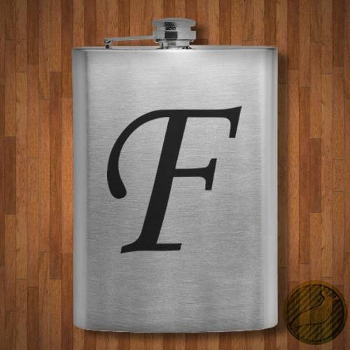 Letter F Style 41 Flask