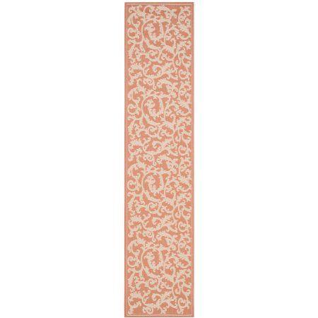 safavieh courtyard kevin floral indoor outdoor area rug or runner rh pinterest com au