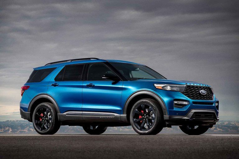 2020 Ford Explorer ST SUV (With images) 2020 ford