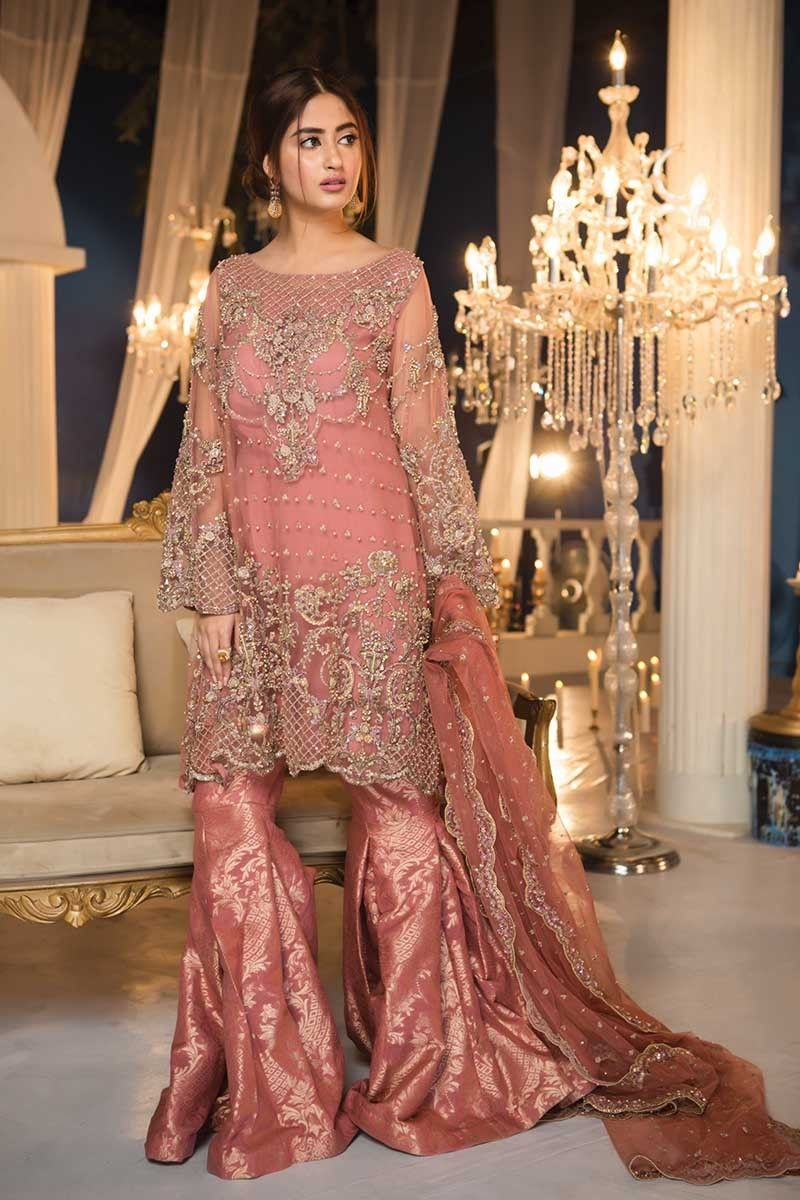 Maria B Couture Latest Fancy Formal Wedding