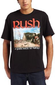 Black T-Shirt NEW /& OFFICIAL! Rush /'Farewell To Kings/'