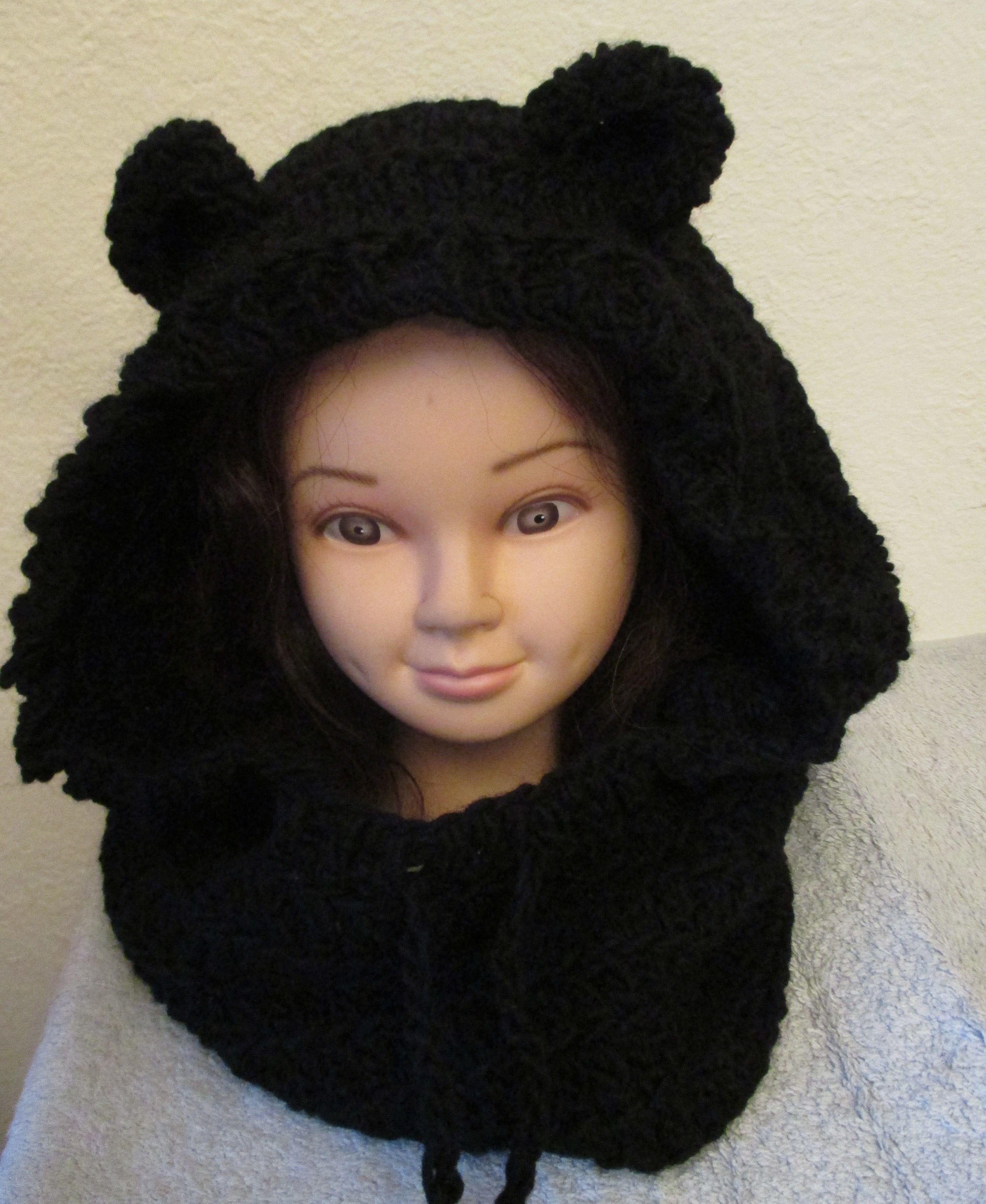 Kapuze Hoodie Bärenohren Häkeln Mützen