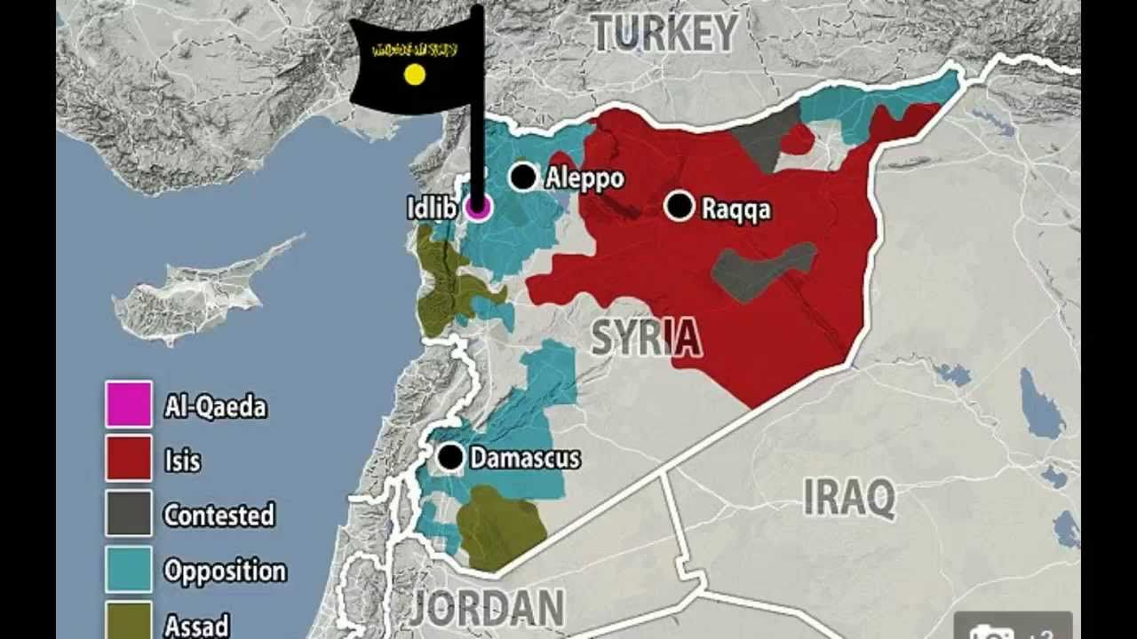Gaining control The al Nusra Front have carved