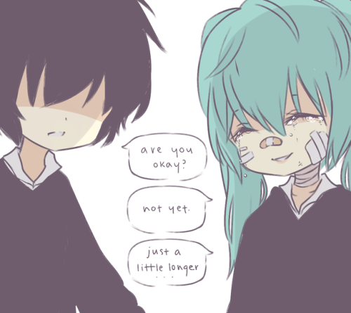Lost Ones Weeping And Rolling Girl Miku Hatsune Vocaloid Hatsune Miku Vocaloid