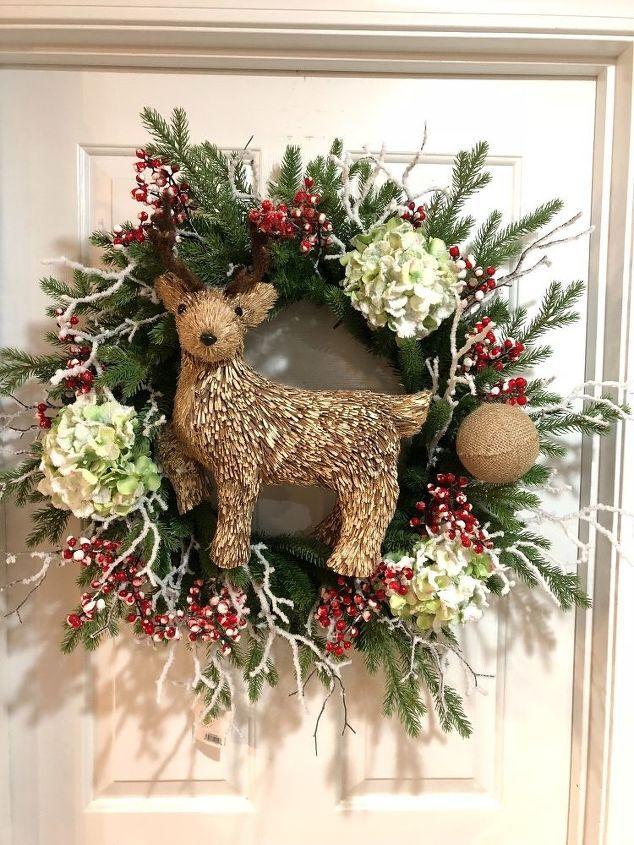 rustic christmas wreath rustic christmas wreath