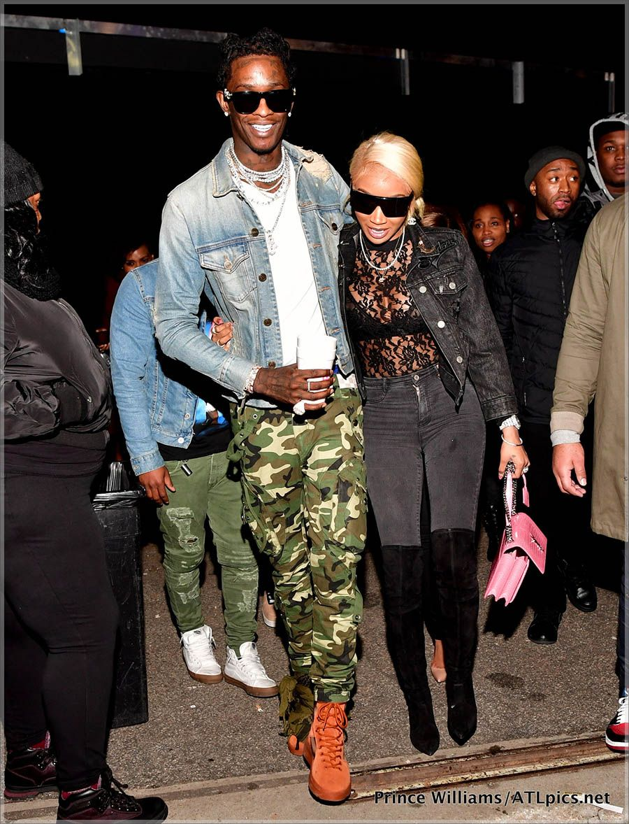 Young Thug Jerrika Karlae Celebrities Their Crazy Life Pinterest Young Thug