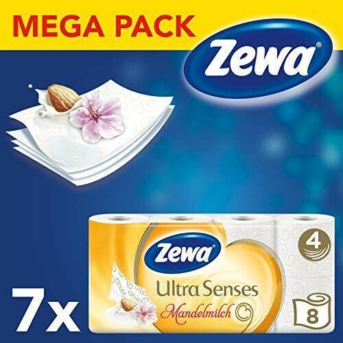 Neu Eingetroffen Zewa Toilettenpapier Ultra Senses 4 Lagig Mega