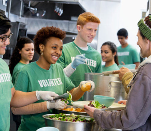 Help End Food Insecurity Hunger Volunteer Connection