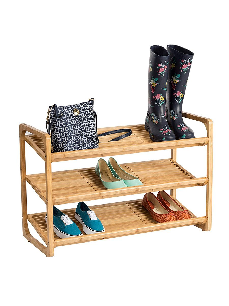Sale Alert Tons Of Home Organization Essentials Are Up To 50 Off On Amazon Right Now Bamboo Shoe Rack Wooden Shoe Racks Shoe Rack