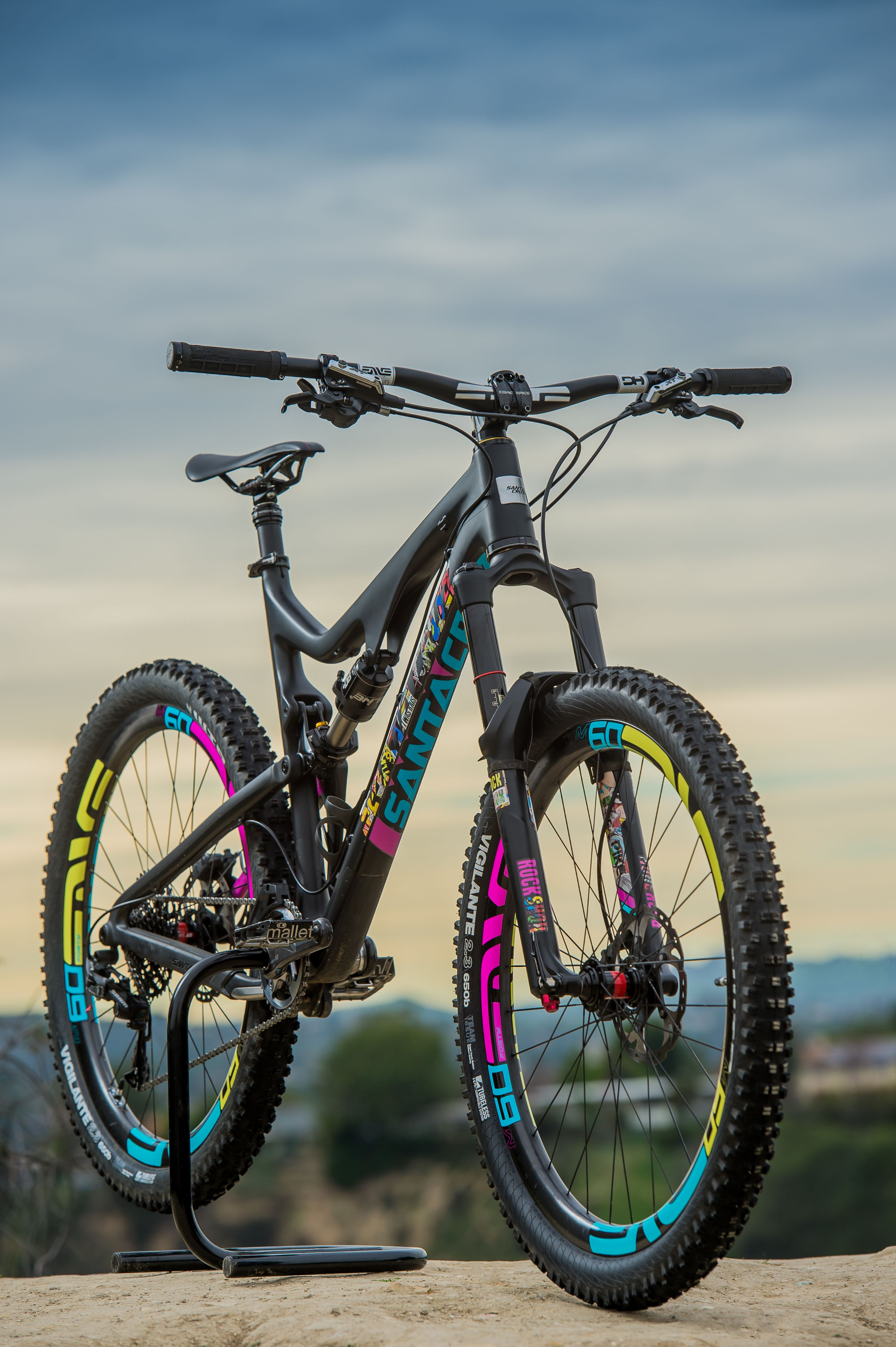 Santa Cruz Tallboy Custom Decals Troydon Murison S Bike Check