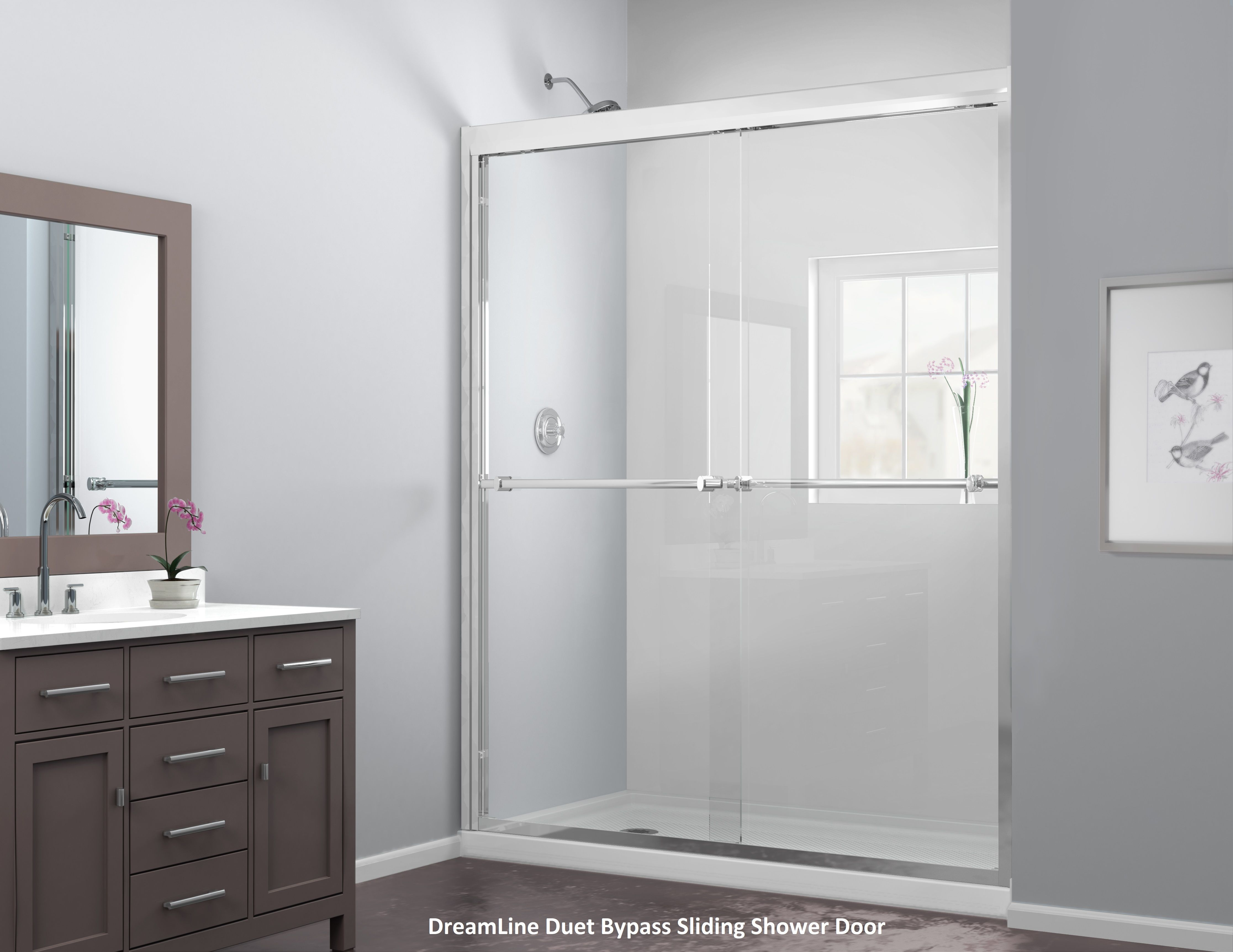 You Deserve It Your Bathroom Oasis Shower Doors Bypass Sliding Shower Doors Sliding Shower Door